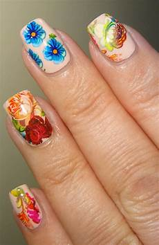wendy s delights summer flower nail foil from charlies