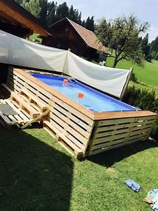Paletten Pool Garten Garten Palette Und