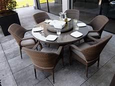 table de jardin ovale plateau en verre tremp 233 sussex en
