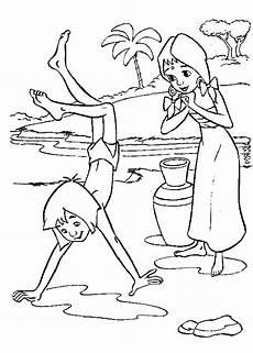 das dschungelbuch ausmalbilder animaatjes de