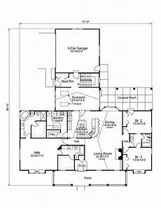 house plans with sunrooms ranch home plan with sunroom 57229ha architectural