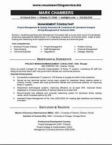 management consultant resume sle resume writing service