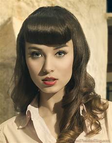 Vintage Hairstyles With Bangs top 12 retro hairstyles with bangs back with a