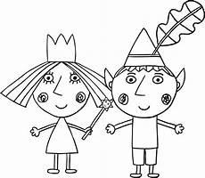 Ben Und Malvorlagen Ben Und Hollys Kleines K 246 Nigreich Malvorlagen In 2020