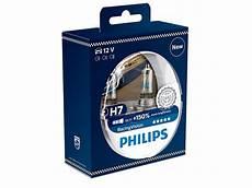 philips racingvision h7 150 lys 12v 2 stk dioder no