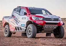 toyota s dakar 2018 contender all new racing hilux wheels24