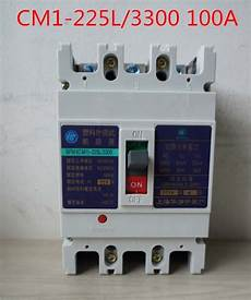 molded case circuit breaker mccb air switch cm1 225l 3300 100a variety of current optional in
