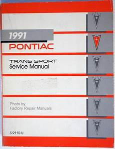 auto repair manual online 1991 pontiac trans sport instrument cluster 1991 pontiac trans sport mini van factory service manual original shop repair ebay