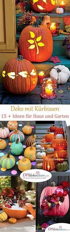Deko Mit Kürbissen - deko mit k 252 rbissen im herbst 220 ber 15 dekoideen f 252 r haus