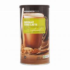 Chai Latte Pulver - instant chai latte 250g woolworths co za