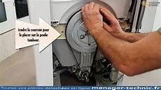 montage courroie lave linge
