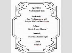 Meg Goes to Market: Hosting an Italian Dinner Party