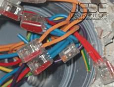 connecteur rapide 5 fils rigides 2 5mm 178 gris translucide jede