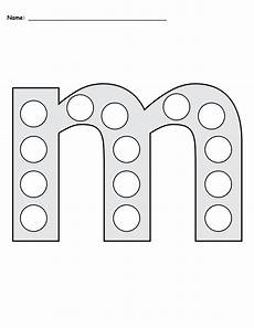 letter m do a dot printables uppercase lowercase supplyme
