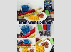 Easy Star Wars Dinner Ideas for a fun Star Wars Theme