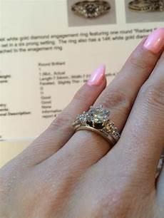 helzberg diamonds 14k white gold 1 56ct radiant star