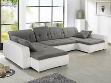 Weiß Graues Sofa - sofa ferun 365x200 185 cm webstoff hellgrau