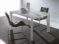 tavolo vetro tavolo in vetro allungabile harvey per cucina o soggiorno
