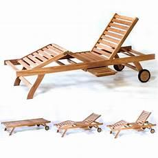 transat bain de soleil en teck pas cher chaise longue