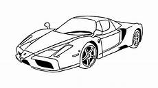 voiture en dessin comment dessiner un enzo voiture