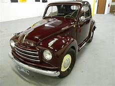 find used 1952 fiat 500 topolino convertible in dallas