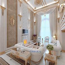 White And Gold Home Decor Ideas by White And Gold Living Room Interiors Luxury