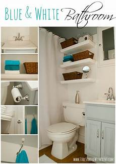 Small Bathroom Ideas Blue And White blue and white bathroom small space solutions
