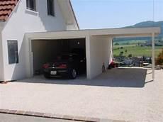 Garage Pr 233 Fabriqu 233 Avec Abri 224 Voiture Lat 233 Ral Feufeu