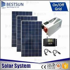 3000 w autonome pv solaire kit pour la maison utiliser
