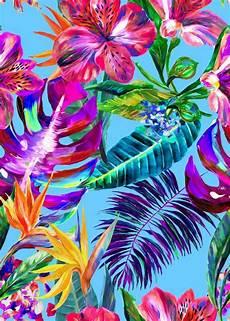 Tropical Flower Wallpaper Hd by Resultado De Imagen Para Tropical Print Fondo De