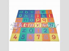 36 SQ FT LOWERCASE ABC/123 INTERLOCKING KIDS FOAM PUZZLE