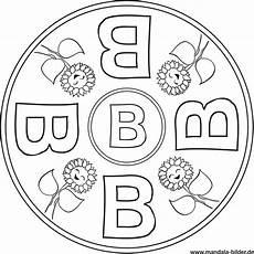Ausmalbilder Zahlen Und Buchstaben Buchstabe B Mandala F 252 R Jungen Und M 228 Dchen Zum Ausmalen