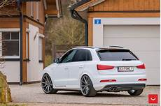 lowered suv why not audi q3 on vsf 1 alu s