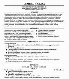 youth development specialist resume exle cook county