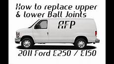 how to work on cars 2011 ford e150 seat position control 2011 ford econoline e250 e150 upper and lower ball joint replacement youtube