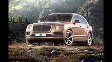 2015 bentley bentayga revealed manufacturer video youtube
