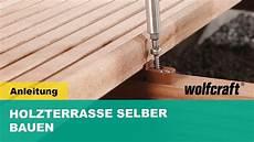Holzterrasse Selber Bauen Schritt F 252 R Schritt Erkl 228 Rt