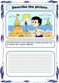 describing worksheets 15901 describe the picture worksheet free esl printable worksheets made by teachers