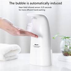 Bakeey Induction Foam Soap Dispenser Automatic by Bakeey 250ml Led Light Indication Touchless Soap Dispenser