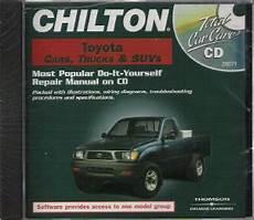 chilton car manuals free download 1998 toyota celica interior lighting 1983 2000 chilton s toyota cars trucks suvs repair cd rom