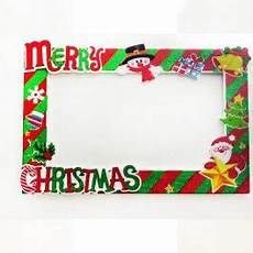merry christmas photo booth frame