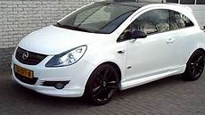 opel corsa 1 4 16v limited edition black white opc line