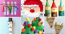 basteln weihnachten kinder 24 easy crafts for