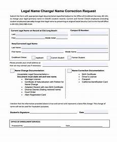free 35 change forms pdf