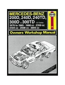 manual repair autos 1977 mercedes benz w123 engine control w123 workshop manuals