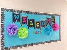 welcome back bulletin board classroom decoration school bulletin boards back to school