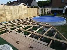 pool umrandung selber bauen bildimpressionen pool und schwimmbad selber bauen