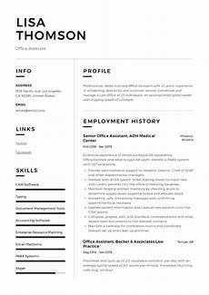 office assistant resume writing guide 12 resume
