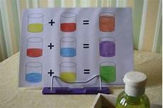 farben mischen in kleiner dosierung farben kiga