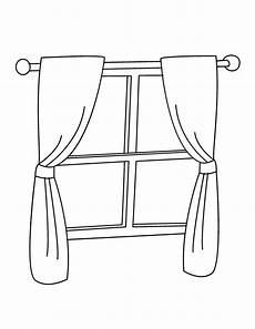 window coloring page get coloring pages